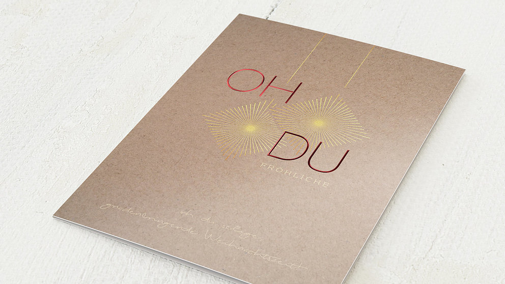 Weihnachtskarten Geschäftlich - Oh du fröhliche