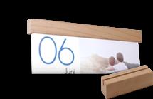 dekorative passende Holzblende 166mm
