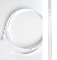 Satinband weiß