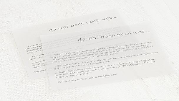 Einlegeblätter - Transparente Einlegeblätter Querformat
