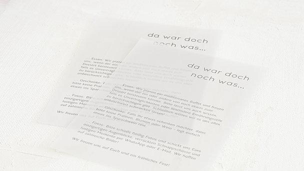 Einlegeblätter - Transparente Einlegeblätter Hochformat