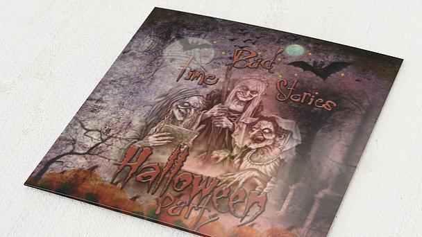 Einladungskarten Halloween - Bad Time Stories