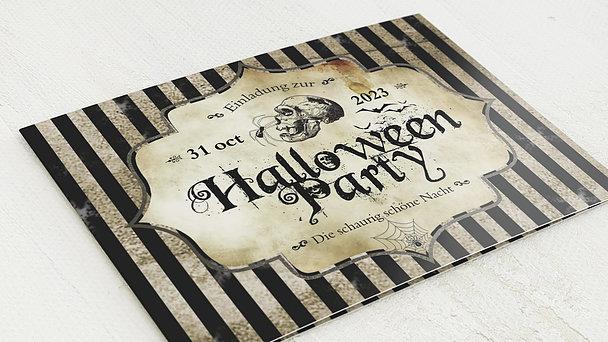 Einladungskarten Halloween - Fright Night