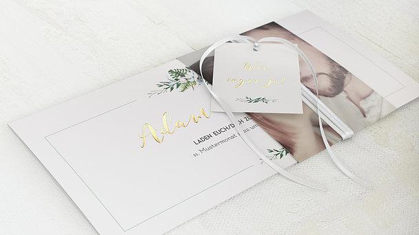 Hochzeitseinladung - Blütentraum