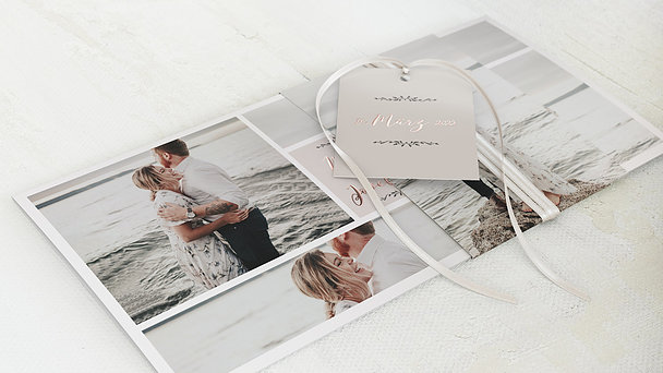 Hochzeitseinladung - Blühende Zeit
