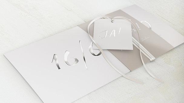 Hochzeitseinladung - Liebesbote