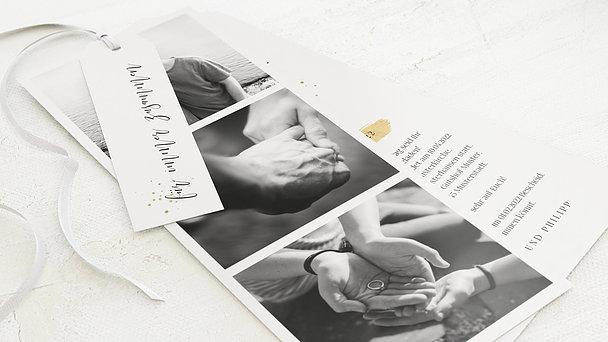 Hochzeitseinladung - Liebessprenkel
