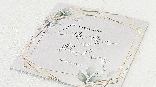 Hochzeitseinladung - Traumbouquet