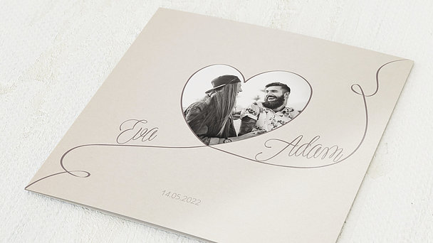 Hochzeitseinladung - Leichtigkeit