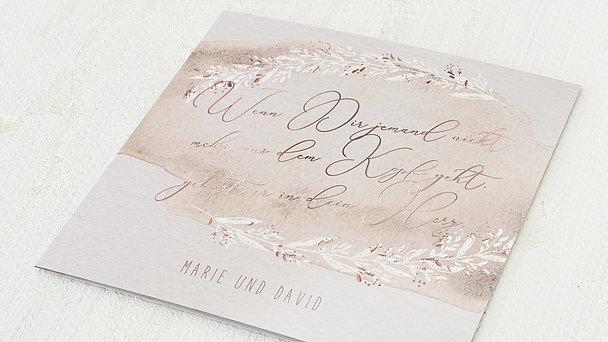 Hochzeitseinladung - Soft pastel