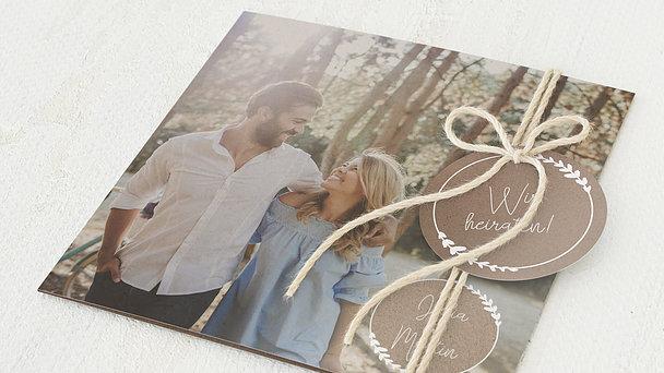 Hochzeitseinladung - Freudenfunkeln