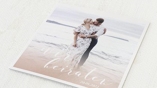 Hochzeitseinladung - Romantic sentiment