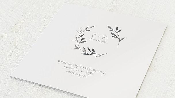 Hochzeitseinladung - Zweiglein