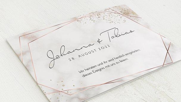 Hochzeitseinladung - Shining elegance