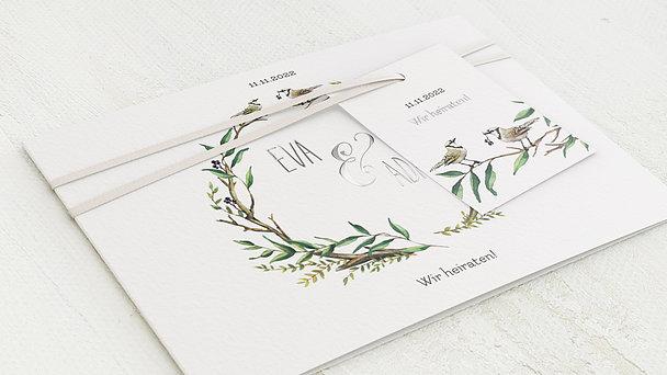Hochzeitseinladung - Liebesnest