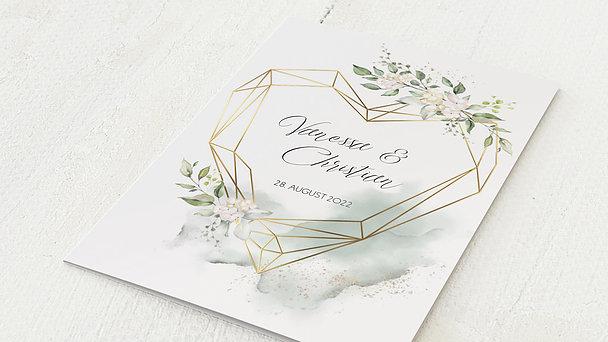 Hochzeitseinladung - Herzliche Eleganz