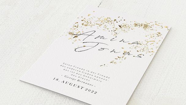 Hochzeitseinladung - Freudensprenkel