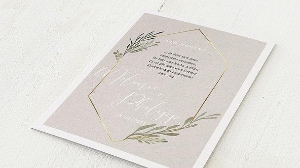 Hochzeitseinladung - Elegant gerankt