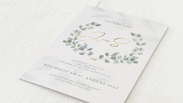 Hochzeitseinladung - So verliebt