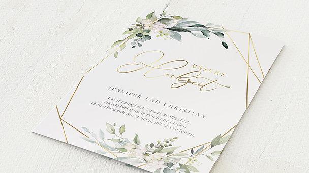 Hochzeitseinladung - Tender Florals