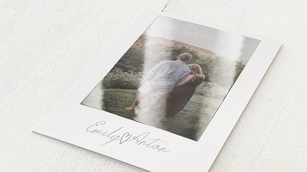 Hochzeitseinladung - Triumph des Herzens