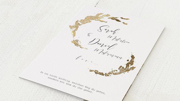 Hochzeitseinladung - Insignie