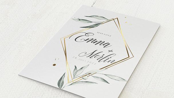 Hochzeitseinladung - Zauberranke