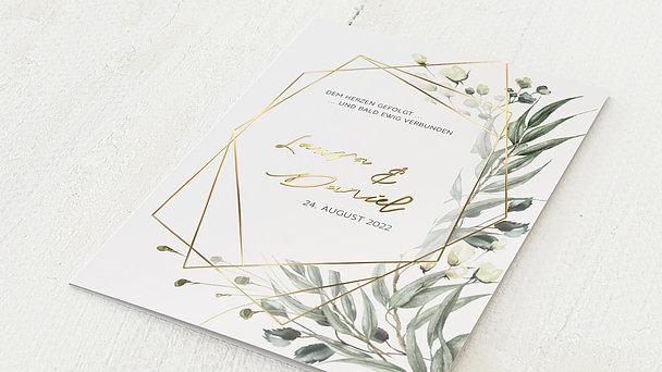 Hochzeitseinladung - Natural frame