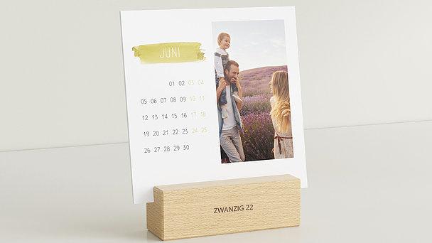 Fotokalender - Vier Jahreszeiten Tischkalender