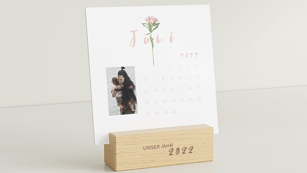 Fotokalender - Botanikum Tischkalender
