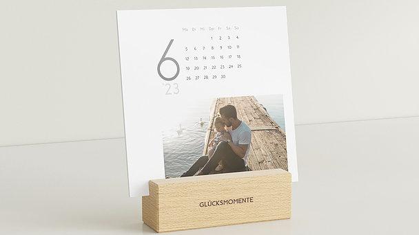 Fotokalender - Pure Momente Tischkalender