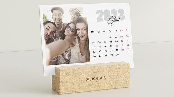 Fotokalender - Glückerfüllte Monate Tischkalender