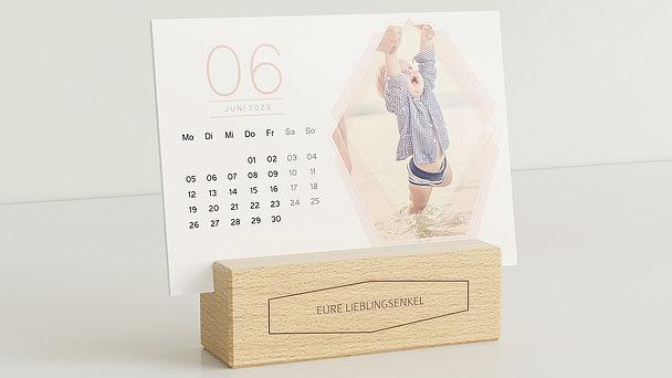 Fotokalender - Polygon Tischkalender