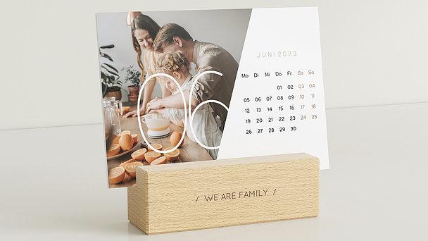 Fotokalender - Quer durchs Jahr Tischkalender