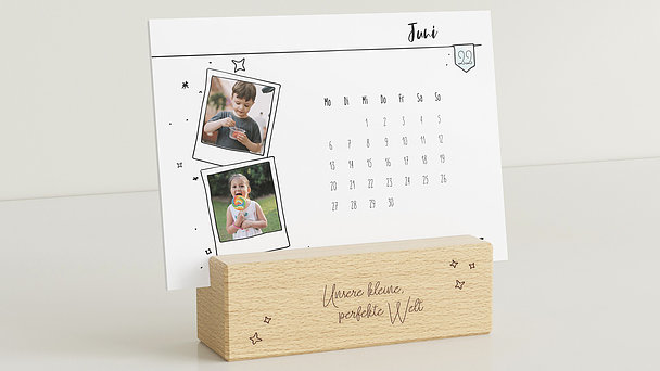 Fotokalender - New horizons Tischkalender