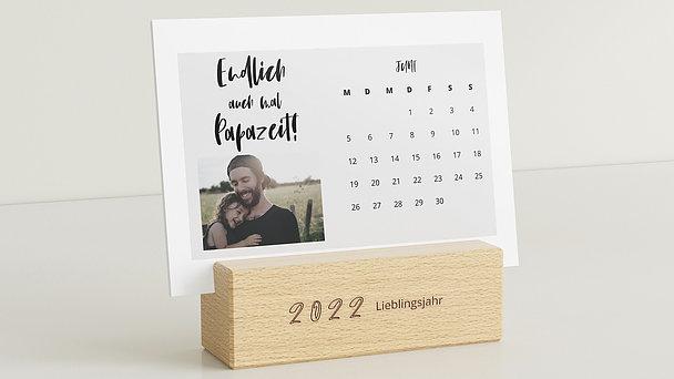 Fotokalender - Fresh start Tischkalender