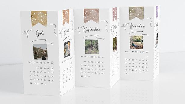 Fotokalender - Lieblingsmonate Tischkalender