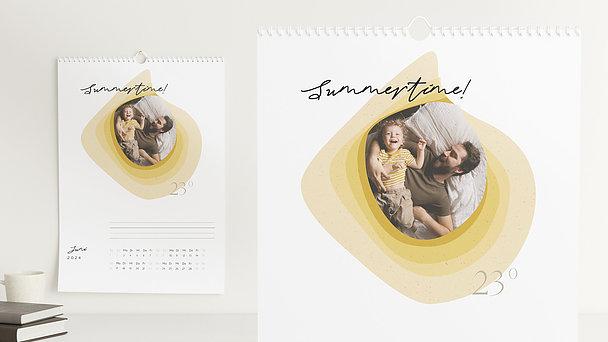 Fotokalender - Bunte Welle