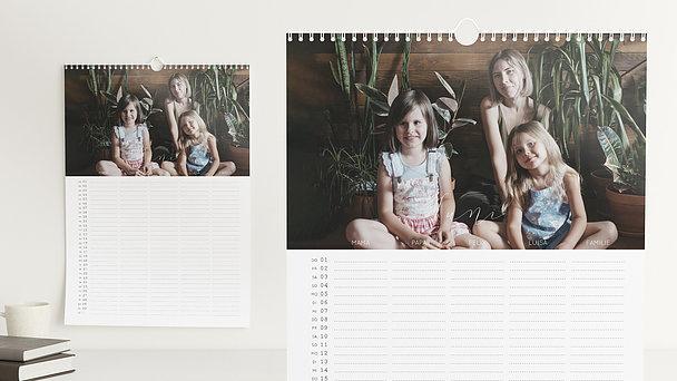 Fotokalender - Glück im Blick Familienplaner