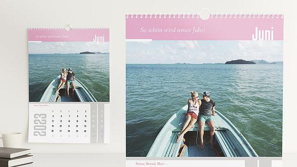 Fotokalender - 12 starke Monate