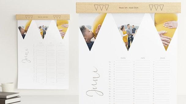 Fotokalender - Dreieckchen Familienkalender