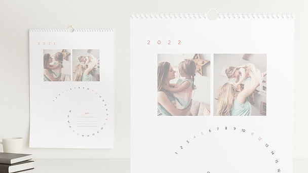 Fotokalender - Jahresspirale