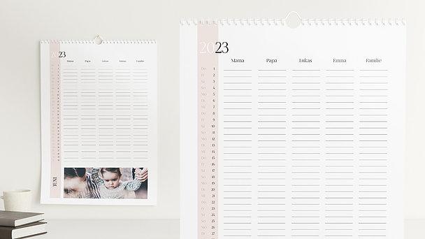 Fotokalender - Sonnenaufgang Familienplaner