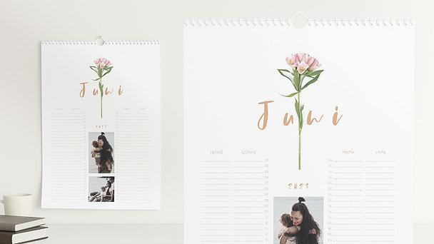Fotokalender - Botanikum Familienkalender