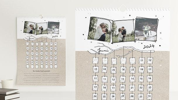 Fotokalender - Geschmückte Zweige