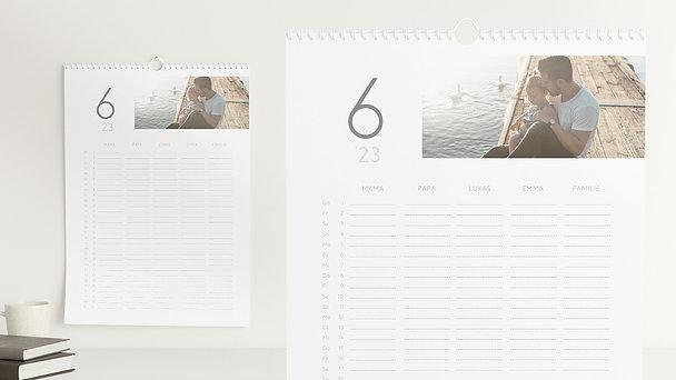 Fotokalender - Pure Momente Familienplaner