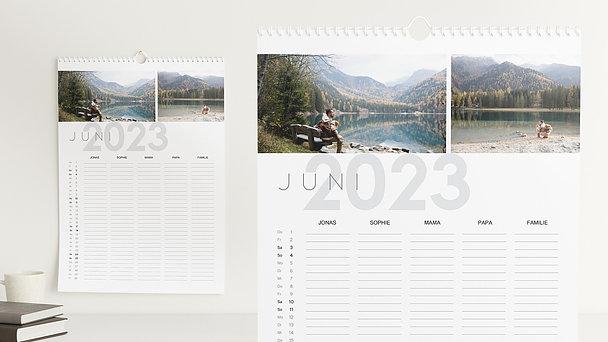 Fotokalender - Allezeit Familienkalender