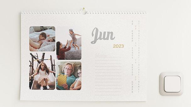Fotokalender - Jahr im Blick