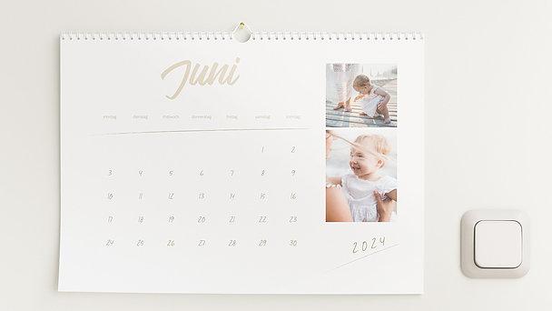 Fotokalender - Unvergessliches Jahr