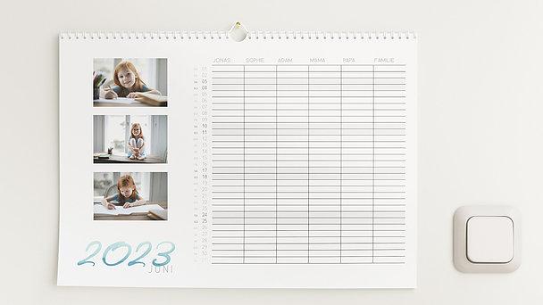 Fotokalender - Schwungvolles Jahr Familienkalender